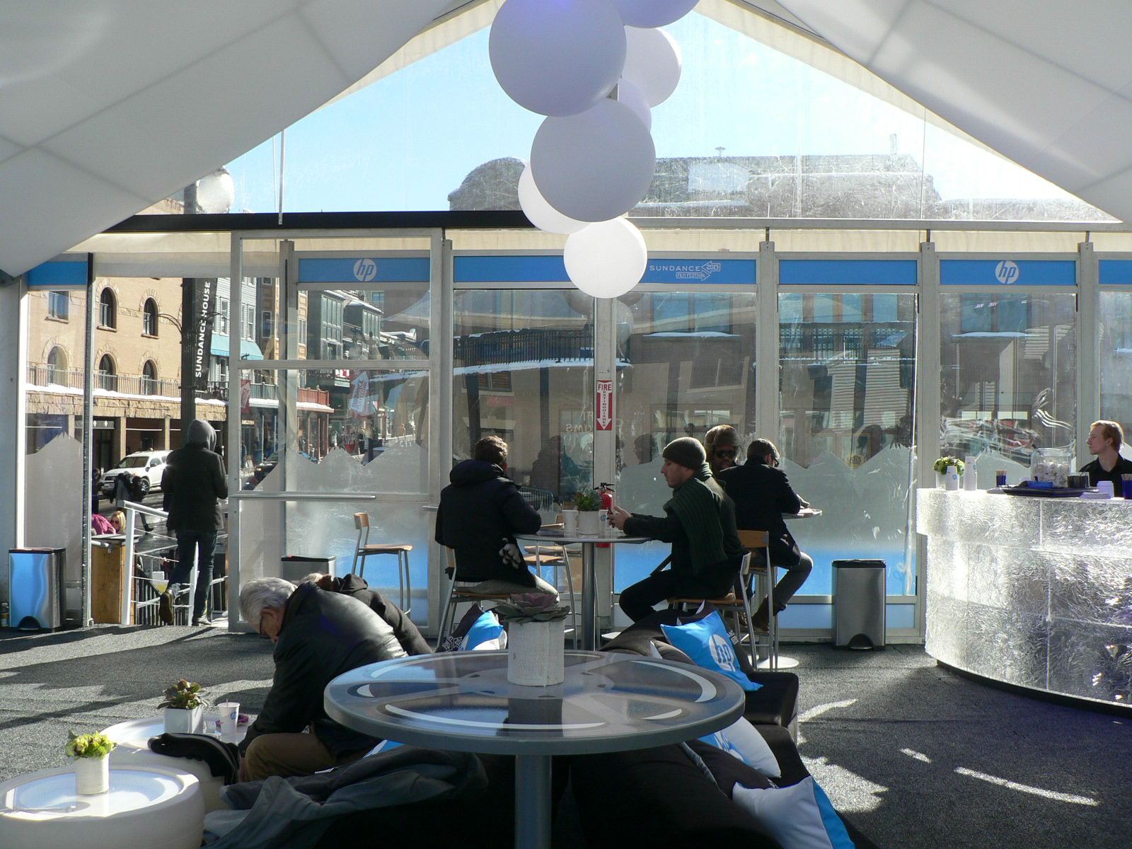 HP Lounge at the 2013 Sundance Film Festival