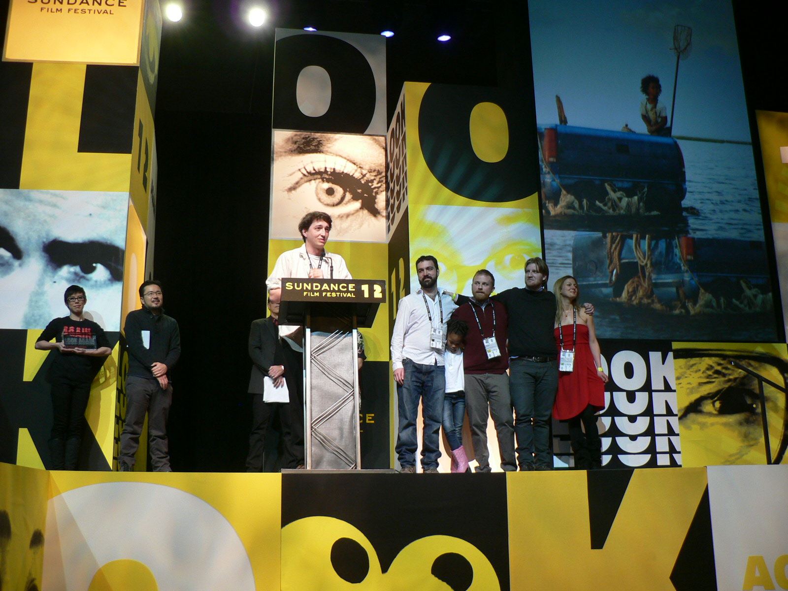 'Beasts of the Southern Wild' cast and crew at 2012 Sundance Film Festival